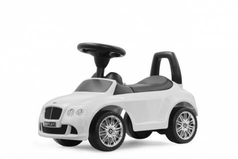 Jamara Rutscher Bentley Continental GT Speed weiß Rutschauto Kippschutz