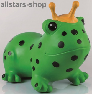 "Allstars Hüpftier ""Frosch"" Hüpfball Hüpfeball Hüpfetier Hopser grün"
