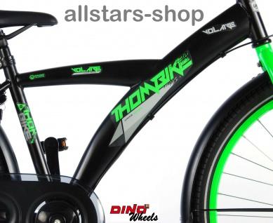 """Allstars Dino Bikes Wheels Thombike Kinderfahrrad Jungenfahrrad 26 """" mit Rücktrittbremse grün - Vorschau 3"""