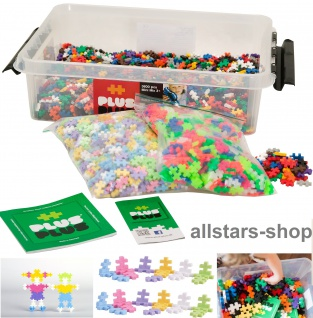 Allstars Plus-Plus Puzzle Bausteine Bauklötze Mini 3600 Mix