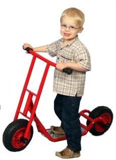 Dragon Toys Roller Scooter midi mittelgroß mit Spezialreifen EVA für Kindergarten und KiTas