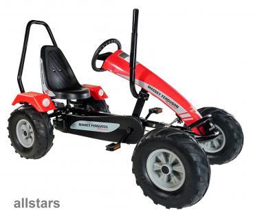 DinoCars Dino Cars GoCart Gokart Track Massey Ferguson BF1 Kinderfahrzeug Kettcar
