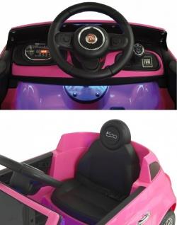 Jamara Kinderauto Elektroauto Ride On Car Fiat 500 Selbstfahr-Kinderauto - Vorschau 3