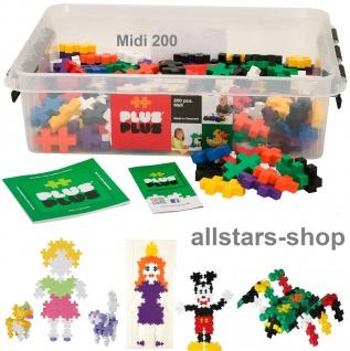 Allstars Plus-Plus Puzzle Bausteine Bauklötze Midi 200