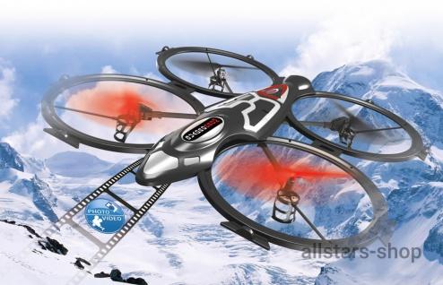 Jamara Quadrodrom Quadrocopter HD Drohne, Kompass, Flip, 2, 4G