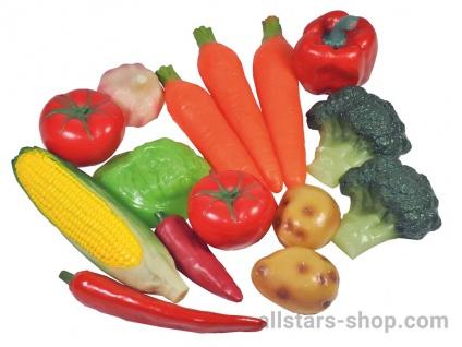 Allstars Gemüse-Set, 15-teilig Spielgemüse