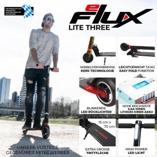 E-Scooter eFlux Lite Three 5.5 Zoll 250 Watt Motor Elektro-Roller