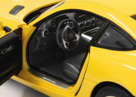 Jamara RC Auto Mercedes AMG GT 1:14 gelb Tür fernbedienbar 40 MHz Funk - Vorschau 4