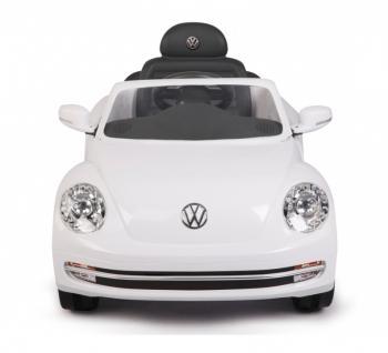 Jamara Ride On VW Beetle Kinderauto Elektroauto weiß 2, 4G 6V - Vorschau 2