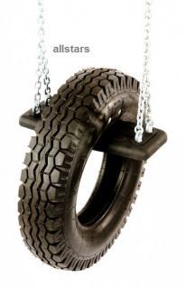 Beckmann Schaukelsitz mit Reifen neu Schaukel mit Ketten Reifenschaukel