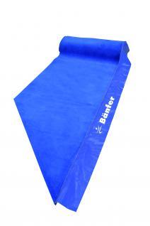 Bänfer Umrandungsteppich 4-tlg. blau f. Bodenturnfläche 14 x 14 m Teppichumrandung