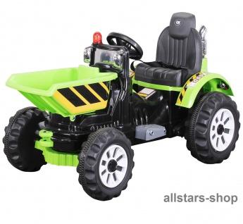 Actionbikes Kinder-Elektroradlader JS328C E-Radlader Bagger Muldenkipper Sitzradlader