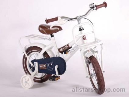 Allstars Dino Wheels Bikes Kinderfahrrad 12 Zoll Urban Jeans in Weiß
