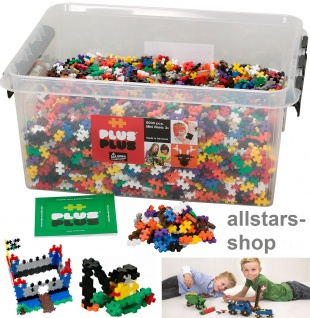 Allstars Plus-Plus Puzzle Bausteine Bauklötze Mini Basic 6000