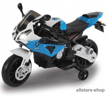 Jamara Kinder-Motorrad Ride On BMW S1000RR Motorbike mit E-Motor blau - Vorschau 3