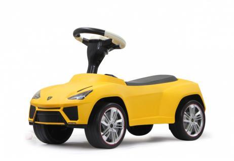 Jamara Rutscher Lamborghini Urus gelb Rutschauto Lederreifen