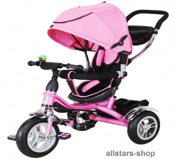 Actionbikes Kinderwagen Kinderkarre Kinder-Karre Kinder-Buggy Kinder-Dreirad pink