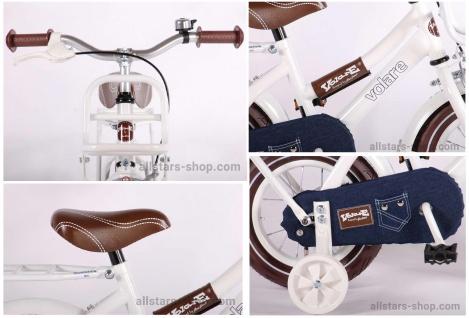 Allstars Dino Bikes Wheels Kinderfahrrad 12 Zoll Urban Jeans in Weiß - Vorschau 5