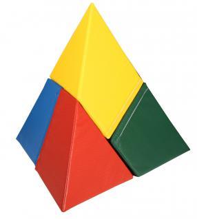 Bänfer Softbausteine Bausteinsatz Pyramide 4-tlg. MAXI Schaumstoffbausteine