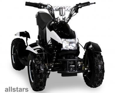 Quad Elektroquad Kinderquad E-Quad Cobra 800W schwarz-weiss