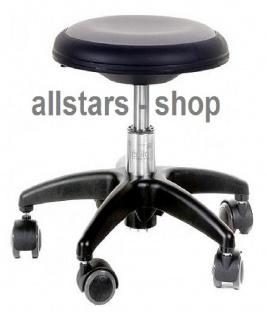 Allstars Rollhocker Star grau Drehstuhl für Kinder ohne Lehne small