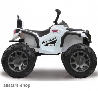 Jamara Kinder-Auto Ride On Quad Protector mit Elektromotor Motorrad weiss - Vorschau 3