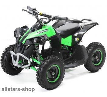 Actionbikes Kinderauto Elektro-Quad Reneblade 1000 W Pocketquad schwarz-grün Miweba