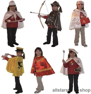 Allstars Kostüme-Set Kinder-Kostüm 13 Berufskostüme Faschingskostüm - Vorschau 3