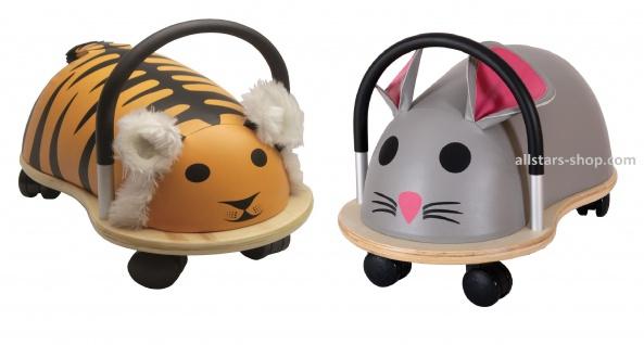 Wheely Bug Rutscher Maus und Tiger groß Kleinkindrutscher mit 360 Grad Wendekreis Allstars