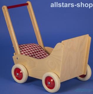Allstars Puppenwagen Buchenholz Natur Puppen-Karre