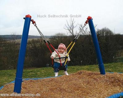 Huck Kleinkindschaukel Mini M komplett mit Sicherheits-Schaukelsitz Schaukel