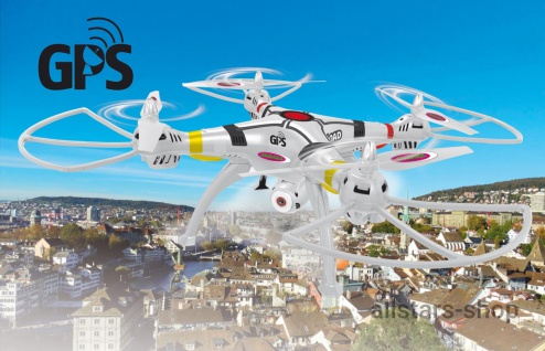 Jamara Payload GPS Drohne Altitude Full HD Wifi ComingHome Quadrocopter