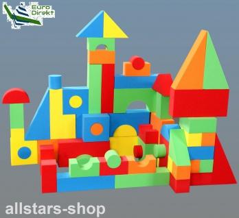 Dragon Toys großes Softbausteine-Set 68 Teile Bausteine EVA wasserdicht, ungiftig für Kindergarten und Hort