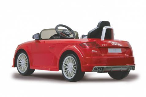 Jamara Kinderauto Elektroauto Elektro Ride on Car Audi TTS Roadstar Auto rot - Vorschau 3