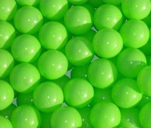 Bänfer Bällebad Therapiebälle Bälle 500 Stück 60 mm Therapie-Bälle im Sack grün