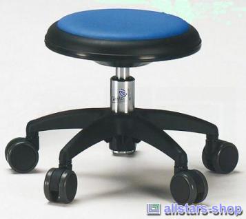 Allstars Stuhl Kinderstuhl Rollhocker Drehstuhl blau Rollstuhl Kinderhocker KiGa