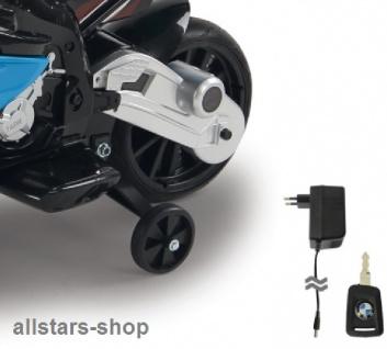 Jamara Kinder-Motorrad Ride On BMW S1000RR Motorbike mit E-Motor blau - Vorschau 4