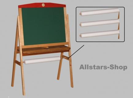 Schöllner Holzspielzeug Zeichenpapier-Rollen 3 Stück für Kinder-Tafeln z.B. im Kindergarten