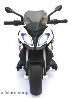 Jamara Kinder-Motorrad Ride On BMW S1000XR Motorbike mit E-Motor weiss - Vorschau 4