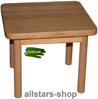Schöllner Puppentisch Klassik aus Holz für bis 4 Stühle Spielmöbel Puppenmöbel für Kindergarten