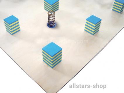 Bänfer Schwingboden Unterkonstruktionen für Bodenturnflächen mit Stahlfedern 14 x 14 m