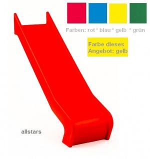 Beckmann Rutsche PE gelb Anbaurutsche L = 1, 26 m PH 0, 9 m Flanschmontage