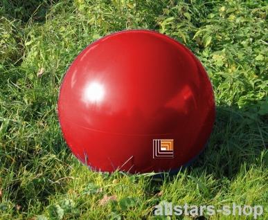 Beckmann Sitzelement Hocker rund Sitzgelegenheit Design-Kugel Ø = 50 cm rot mit Bodenanker