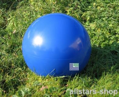 Beckmann Sitzelement Hocker rund Sitzgelegenheit Design-Kugel Ø = 50 cm blau mit Bodenanker