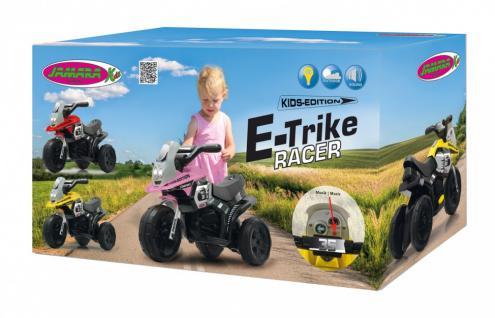 Jamara Kinderauto Elektro-Trike Elektroauto Ride-on E-Trike Racer gelb - Vorschau 4