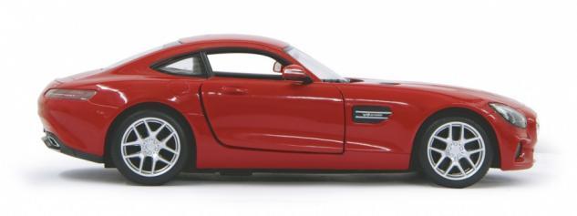 Jamara RC Auto Mercedes AMG GT 1:14 rot Tür fernbedienbar 27 MHz Funk - Vorschau 3