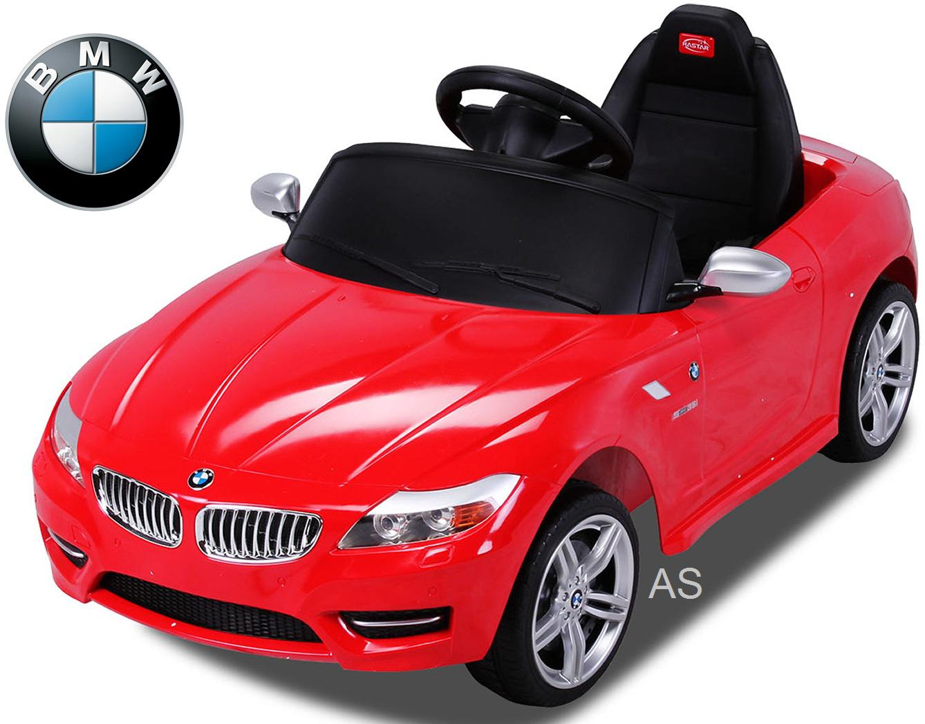 allstars kinderauto elektroauto bmw z4 rot lizenz. Black Bedroom Furniture Sets. Home Design Ideas