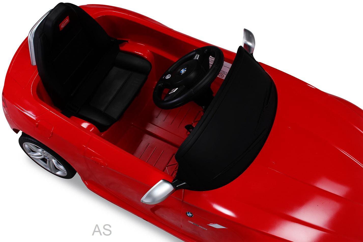 allstars kinderauto elektroauto bmw z4 rot lizenz sportwagen mit fernbedienung kaufen bei euro. Black Bedroom Furniture Sets. Home Design Ideas