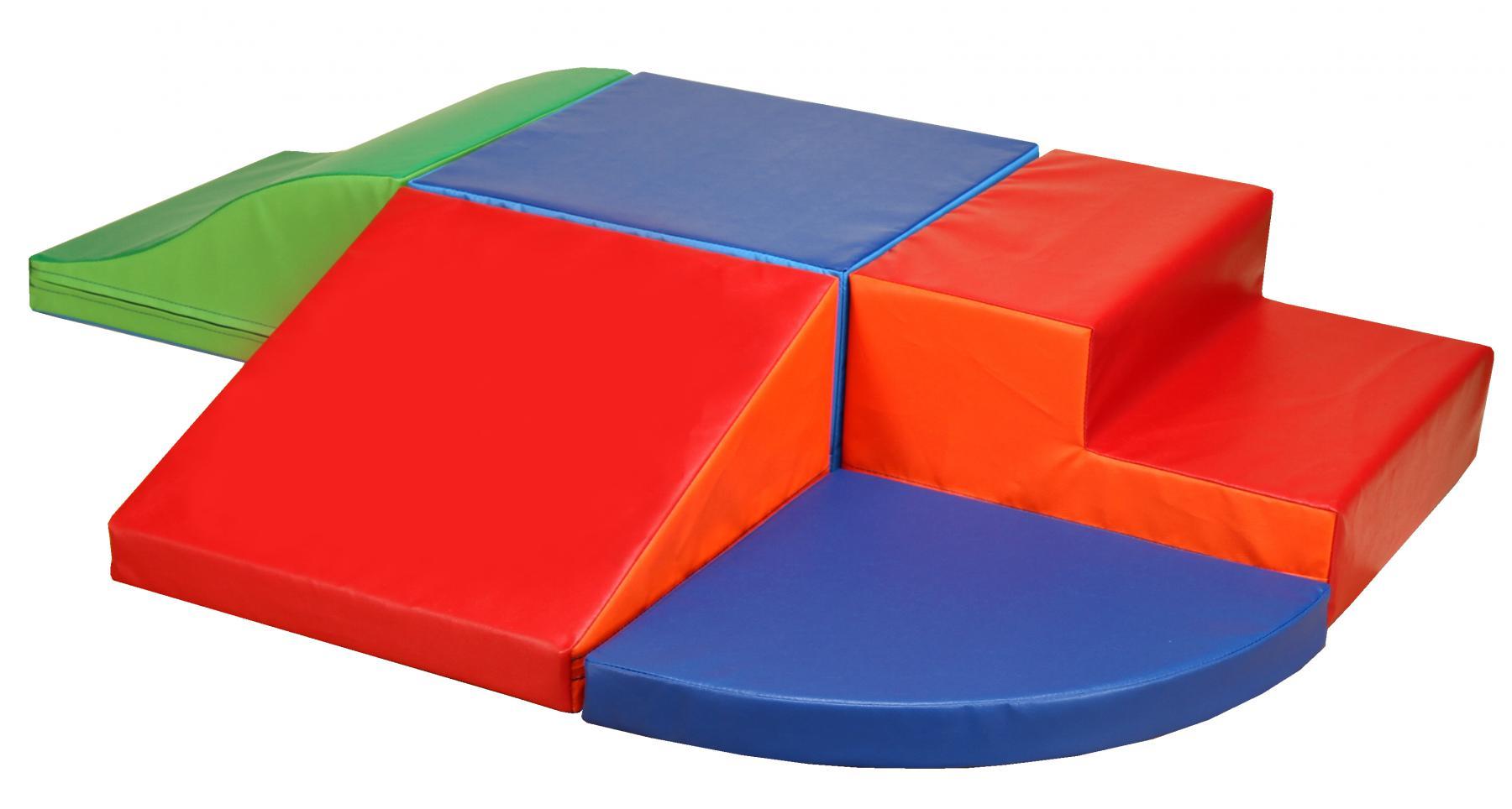 b nfer softbausteine baumodul 5 tlg bausteine bausteinsatz medi schaumstoff kaufen bei euro. Black Bedroom Furniture Sets. Home Design Ideas