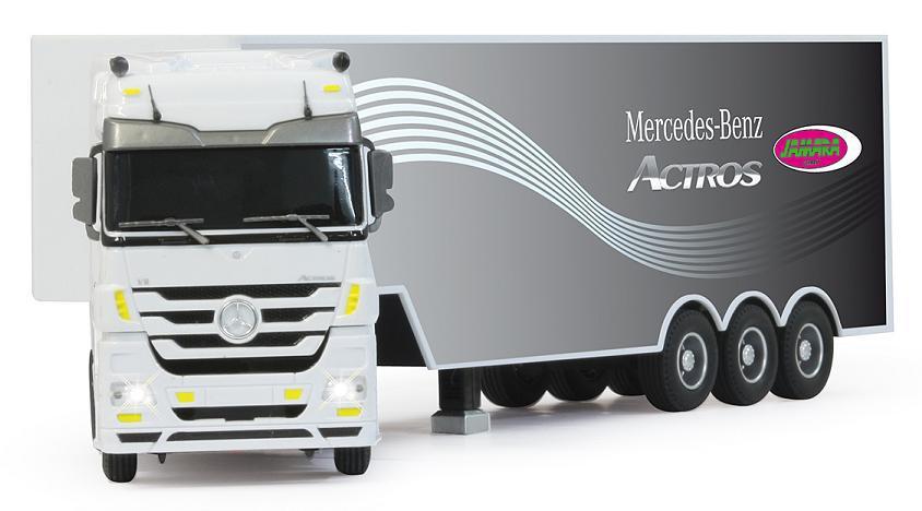 jamara lkw mercedes actros 1 32 truck vierzigtonner. Black Bedroom Furniture Sets. Home Design Ideas
